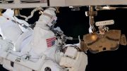 NASA Astronaut Bob Behnken Space Walk
