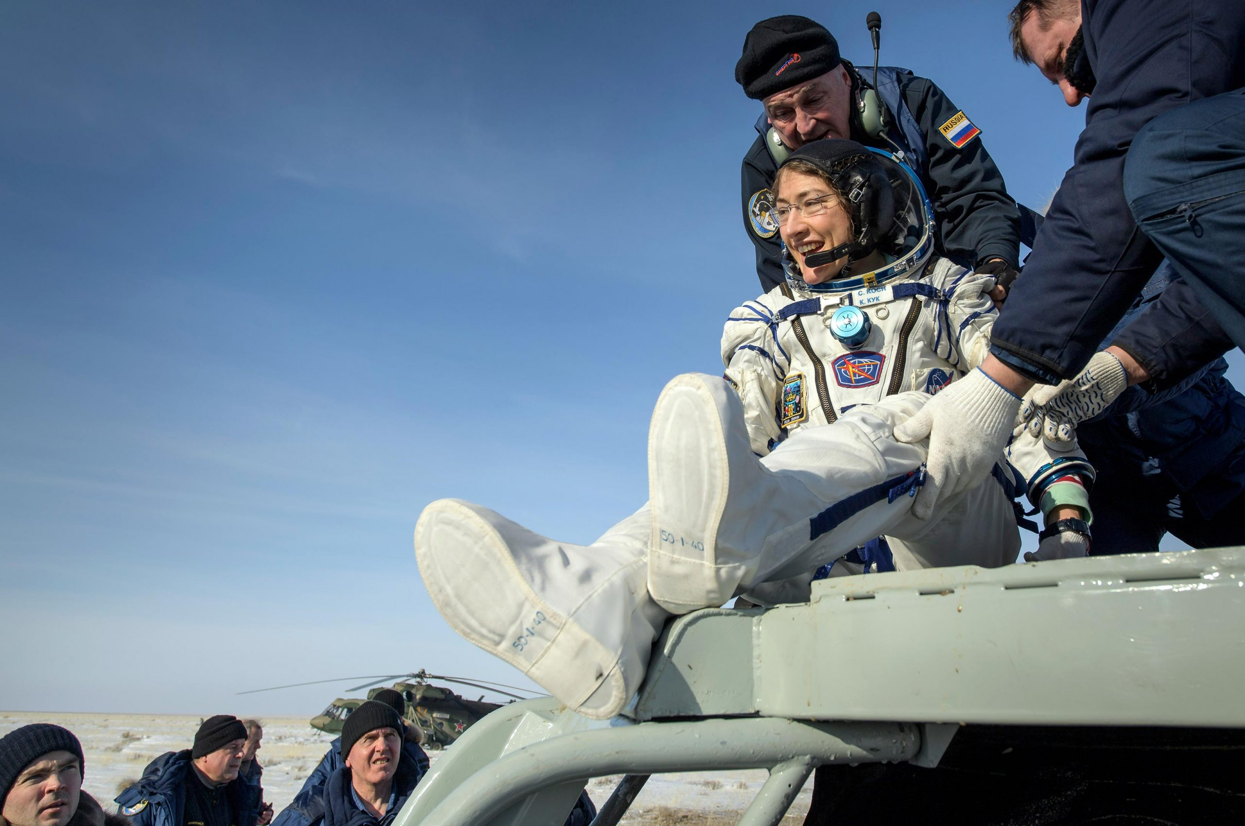 NASA Astronaut Returns to Earth After Record-Setting Spaceflight - SciTechDaily