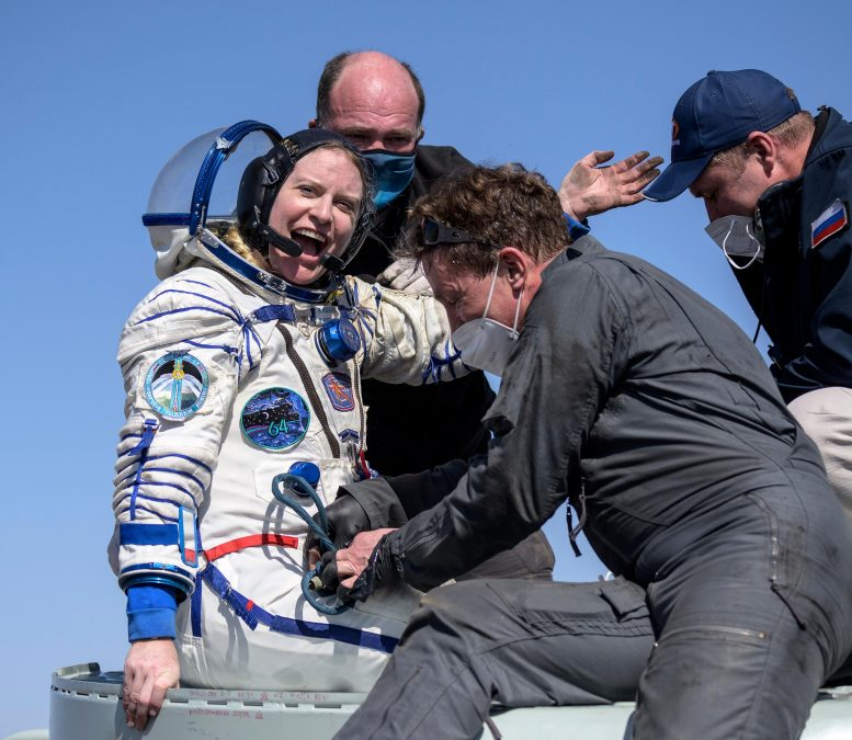 NASA Astronaut Kate Rubins Returns to Earth