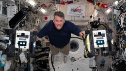 NASA Astronaut Shane Kimbrough Inside Kibo Laboratory Module