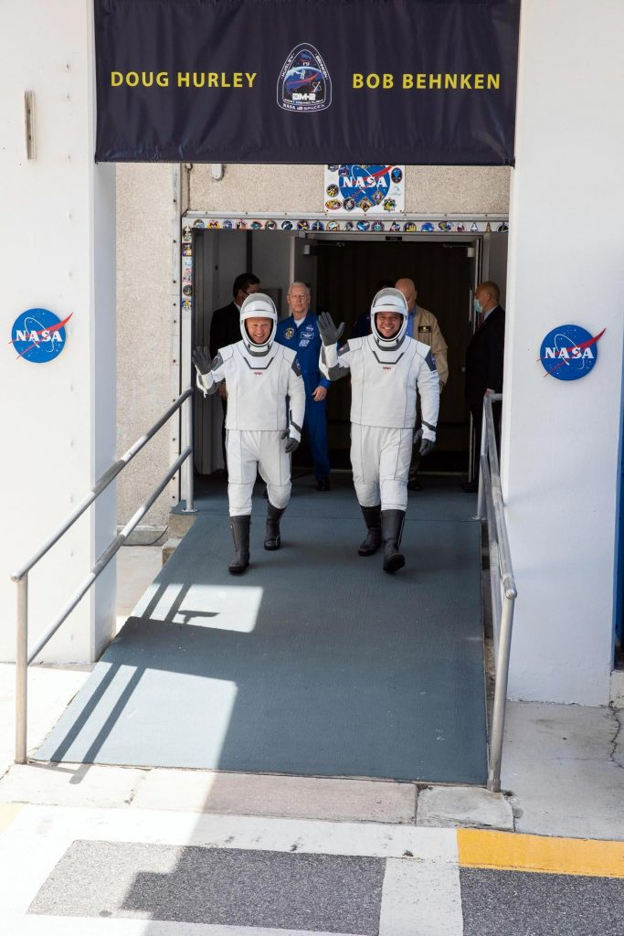 NASA Astronauts Hurley and Behnken