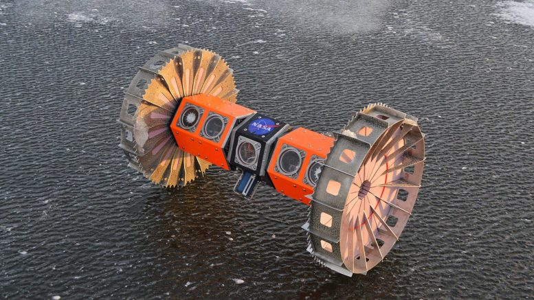 NASA BRUIE Aquatic Rover