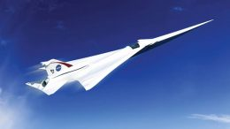 NASA Begins Work on a Quieter Supersonic Passenger Jet