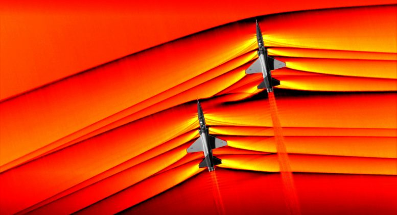 NASA Captures First Air to Air Images of Supersonic Shockwave