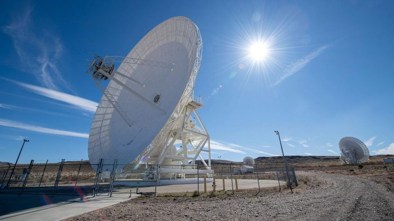 NASA Deep Space Network Antenna Dishes