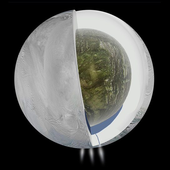 NASA Detects Ocean Inside Saturns Moon Enceladus