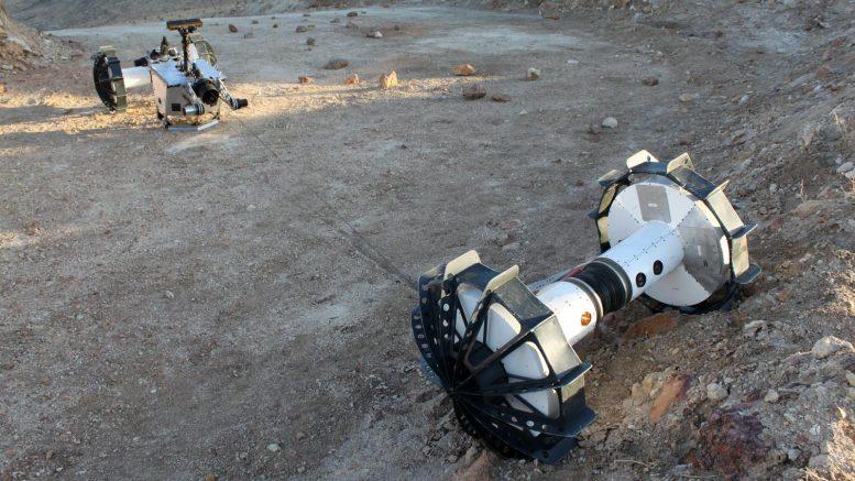 NASA DuAxel Rover