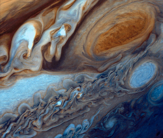 NASA Image of the Day – Jupiter's Great Red Spot Viewed by Voyager I