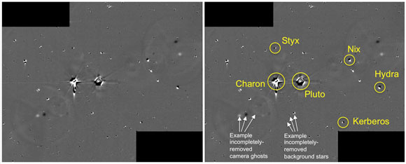 NASA Images of the Pluto System