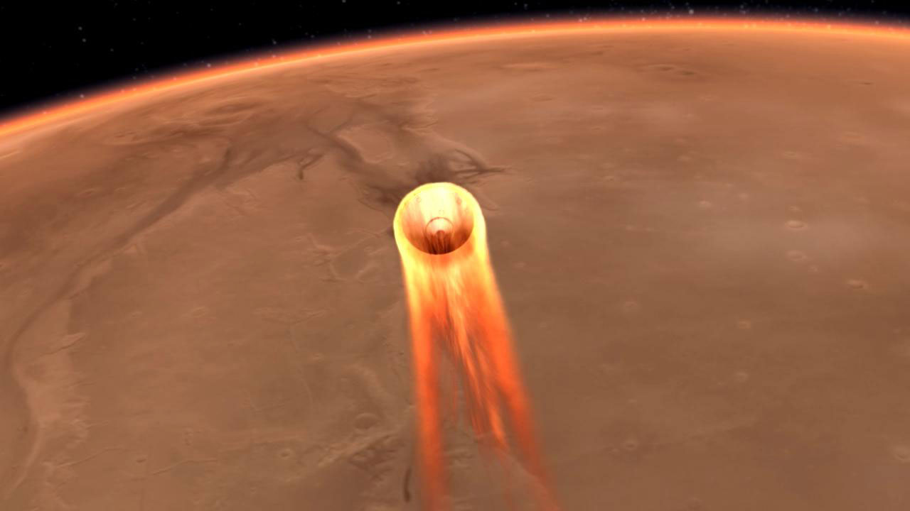 nasa mars insight landing stream - photo #10