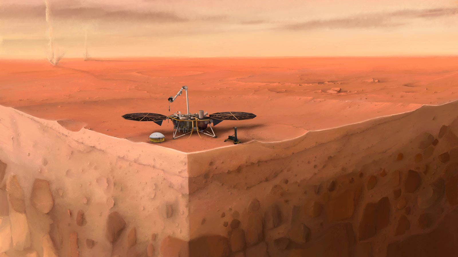 Mars InSight Lander Yields a Year of Surprising Discoveries Above ...
