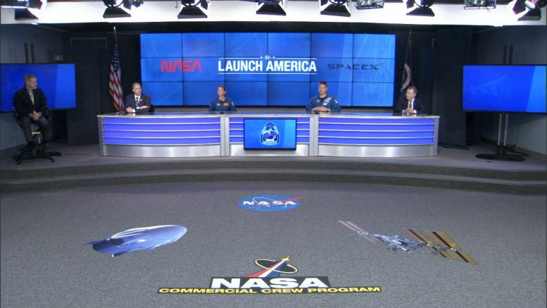 NASA Kennedy Space Center Demo 2 Mission News Conference