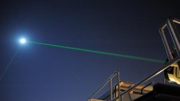 NASA Launched Laser Beams at the Moon