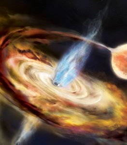 NASA Maps Light Echoes of New Black Hole