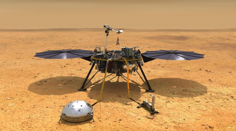 NASA Mars InSight Deploys Instruments