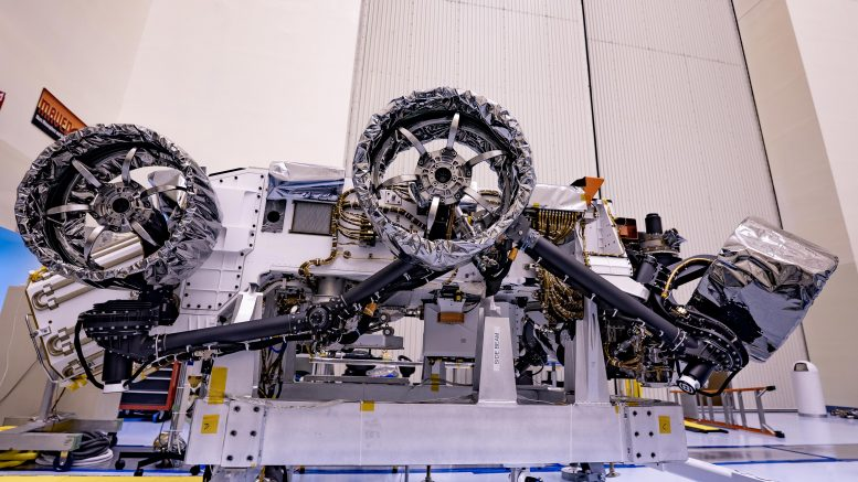 NASA Mars Perseverance Rover Wheels