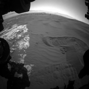NASA Mars Rover Curiosity Samples Scooped, Sieved Sand