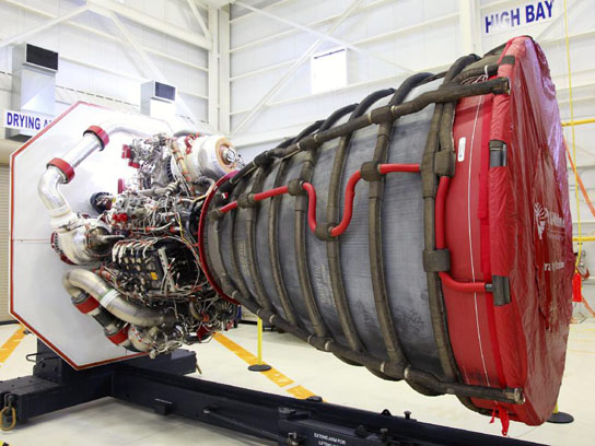 NASA Moves RS-25D Flight Engines to Stennis for Space Launch System