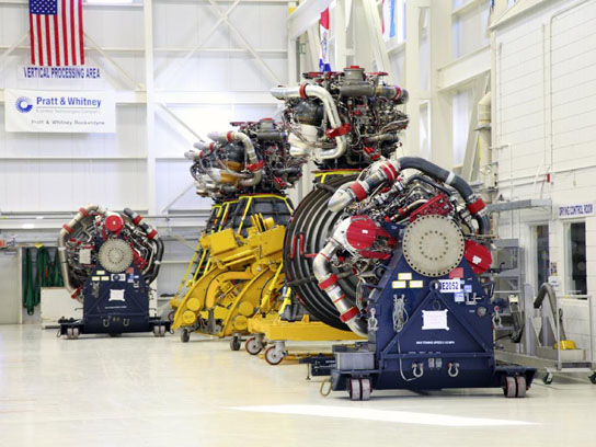 NASA Moves RS-25D Flight Engines