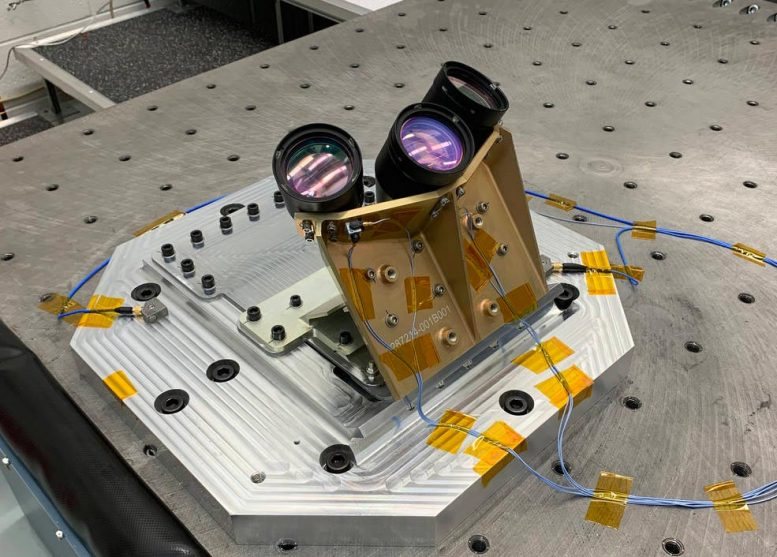 NASA Navigation Doppler Lidar Instrument