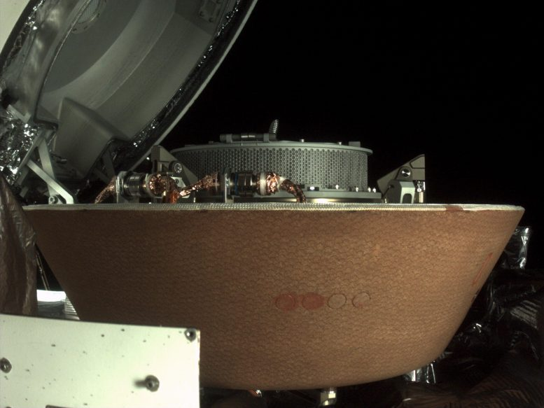 NASA OSIRIS-REx Stow TAGSAM Detached