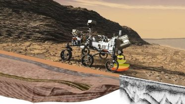 NASA Perseverance Rover RIMFAX at Work