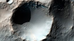 NASA Pi Day Crater Image