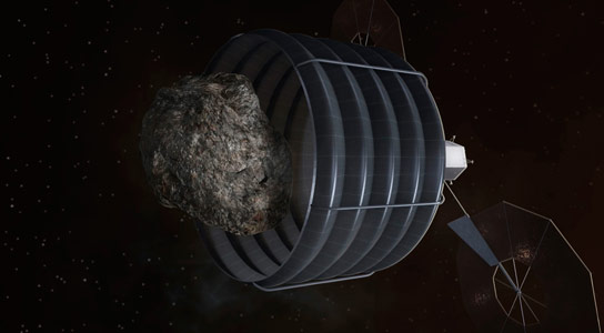 NASA Plans to Robotically Capture a Small Near Earth Asteroid