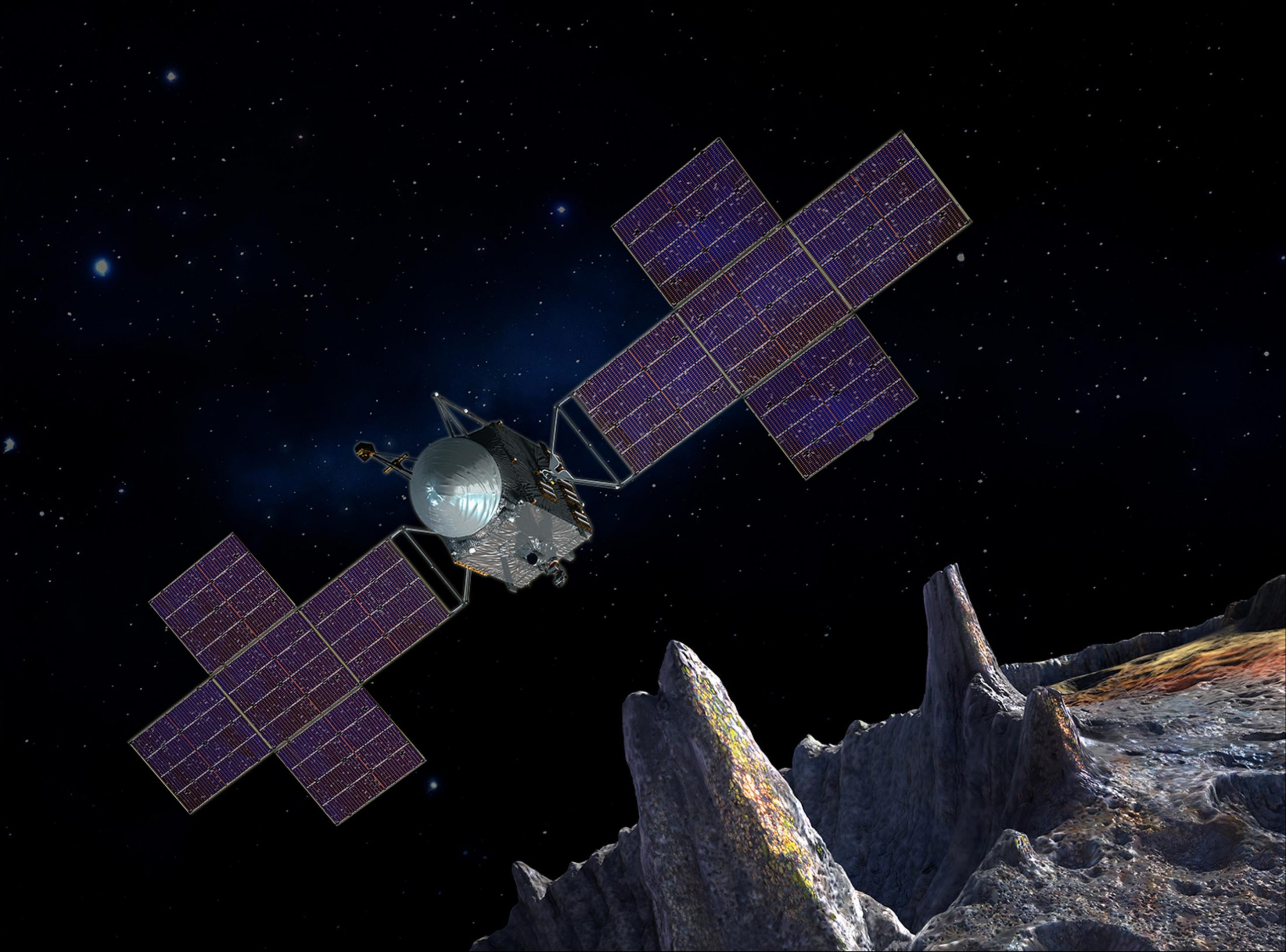 NASA's Metal Mission: Final Assembly of Psyche Spacecraft Begins – Destined to Explore a Metal-Rich Asteroid