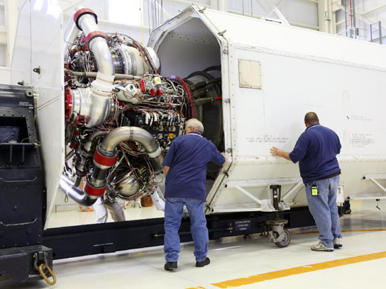 Nasa Moves Rs 25d Flight Engines To Stennis For Space