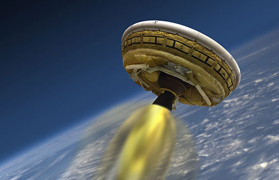 NASA Readies Flying Saucer for First Test Flight