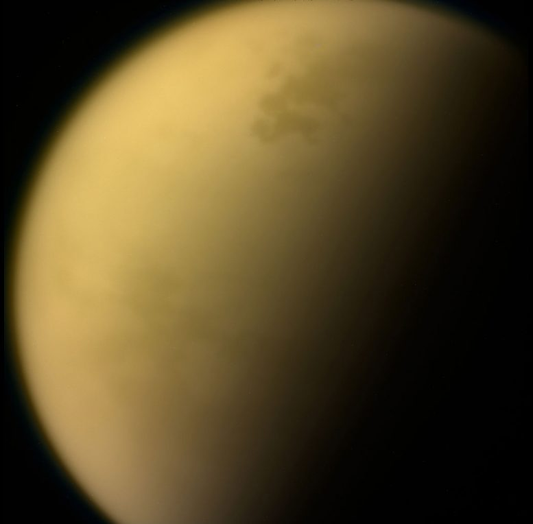 NASA Researchers Find Noxious Ice Cloud on Saturn's Moon Titan
