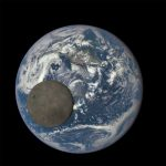 NASA Satellite Shows Moon Crossing Face of Earth