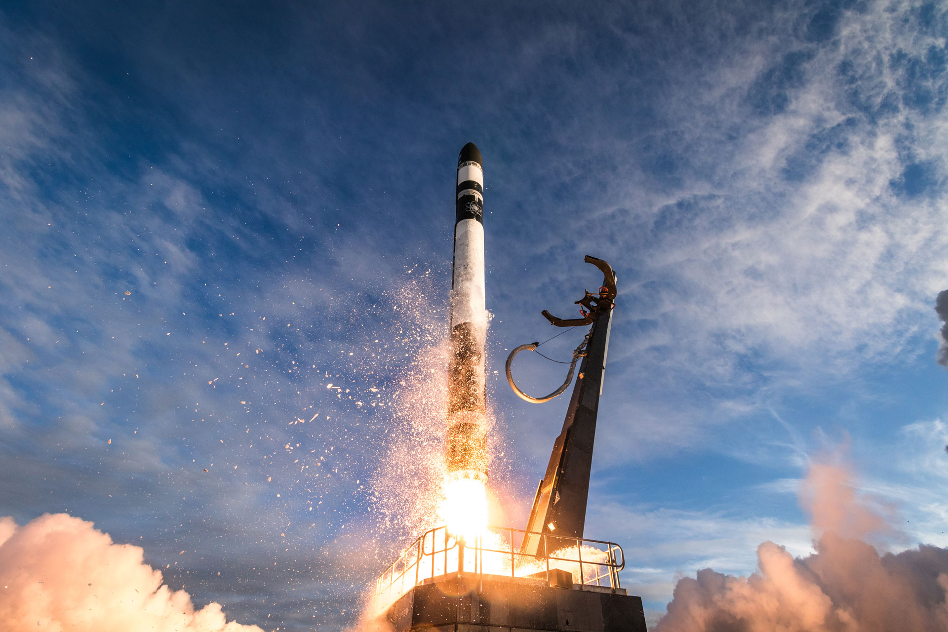 Rocket Lab's Electron Rocket Sends Series Of New CubeSats