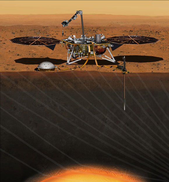NASA Sets Launch Date for Mars InSight Mission