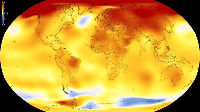 NASA Shows Long-Term Warming Trend of Earth Continues