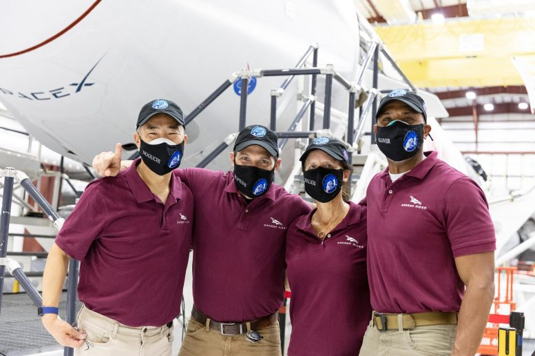 NASA Space X Group 1 Mission Astronauts