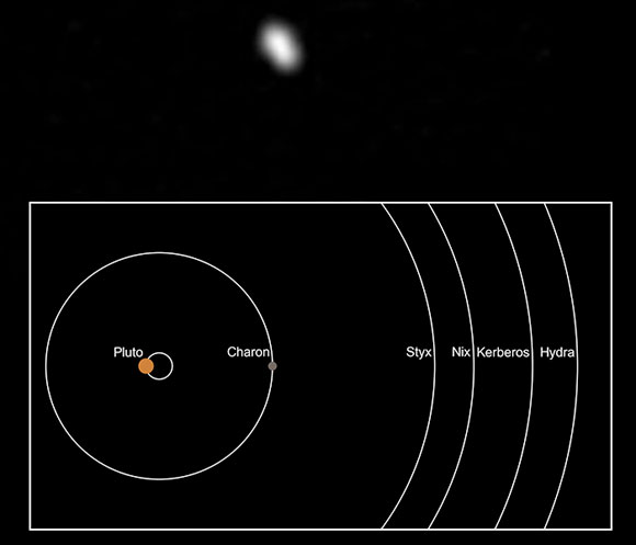 NASA Spacecraft Observes Pluto's Smallest Moon Styx