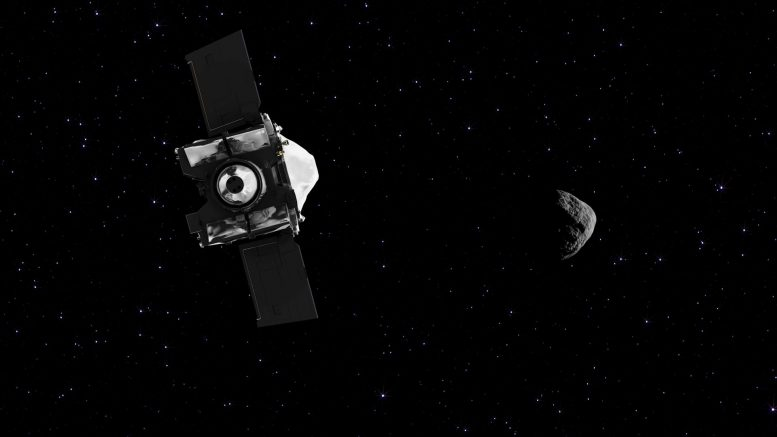 NASA Spacecraft Rendezvous Asteroid