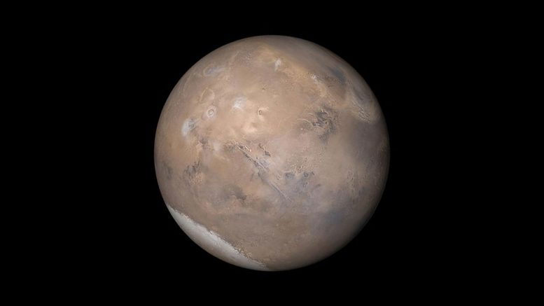NASA Statement on Subsurface Lake near Martian South Pole