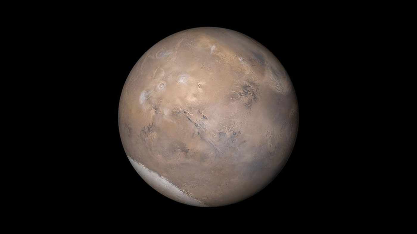 Giant Liquid Water 'Lake' Discovered On Mars