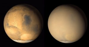 NASA Study Predicts Next Global Dust Storm on Mars