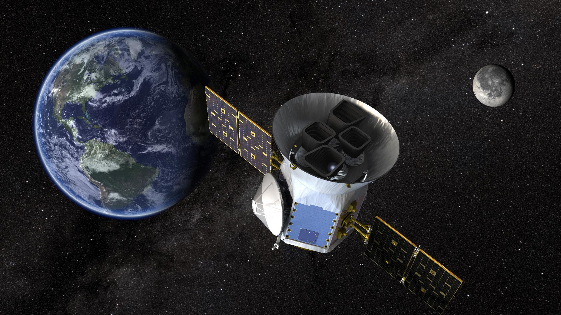 "NASA's TESS – The Space Agency's ""Planet Hunter"" – Completes Its Primary Mission With ""Roaring Success"" - SciTechDaily"