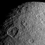 NASA Takes a Closer Look at the Surface Features of Rhea