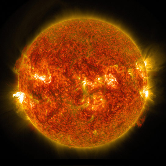 NASA Views Solar Flare
