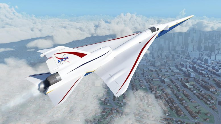 NASA X-59 Quiet SuperSonic Technology Aircraft