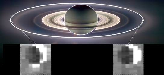 NASAs Cassini Reveals Forces Controlling Saturn Moon Jets