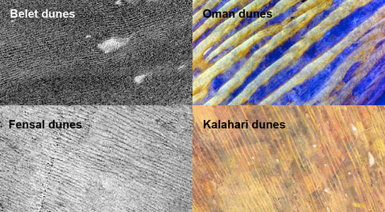 NASA's Cassini Spacecraft Shows Dune Patterns of Titan