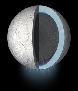 NASA's Cassini Spacecraft to Dive Through the Plume of Saturn's Moon Enceladus