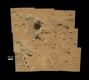 NASA's Curiosity found evidence of an ancient flowing stream on Mars
